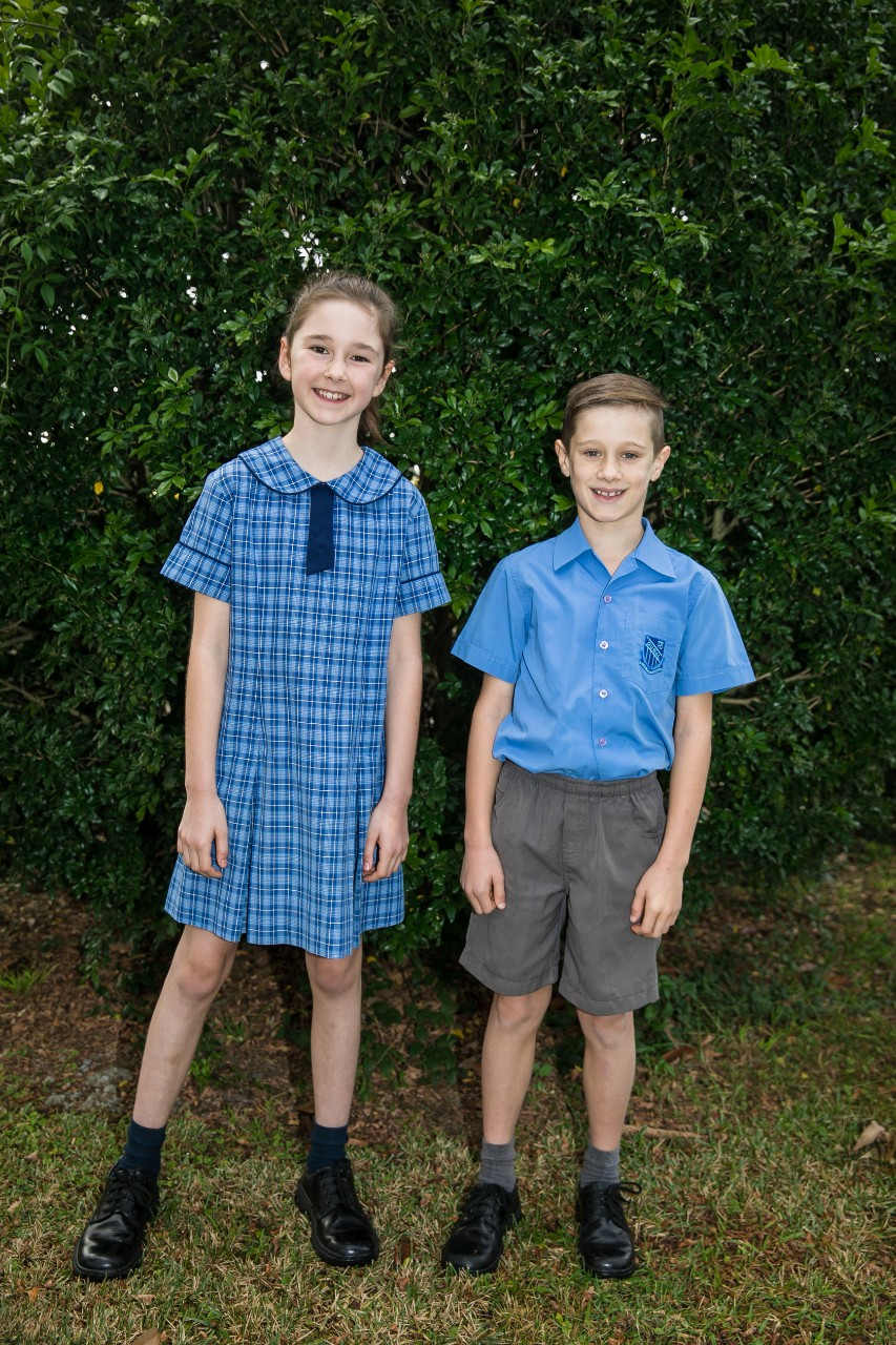 Dural Public School summer uniform boys and girls