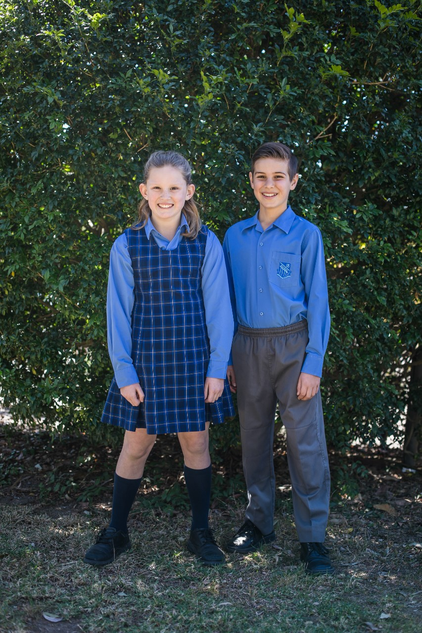 Dural Public School winter uniform boys and girls